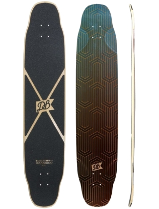 DB Longboards Dance Floor 47 Flex 1 blue - deck only