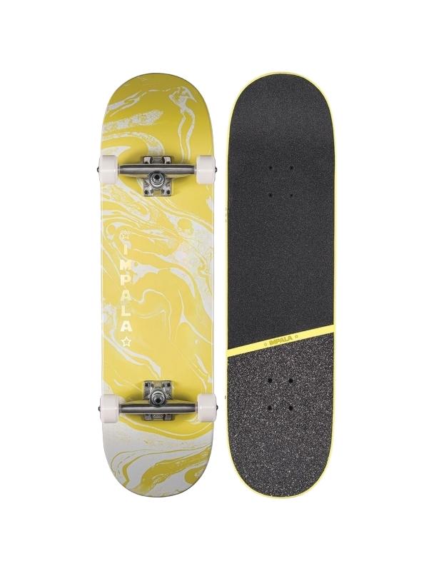 "IMPALA Cosmos Skateboard 8.5"" - Yellow Cover Photo"