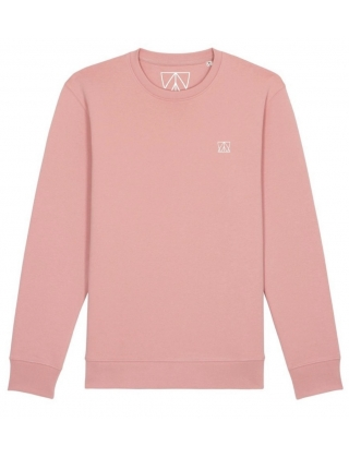 Swell And Barrels Crew Neck Sweat - Pink