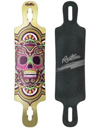 Restless Skull B52 Calavera Longboard