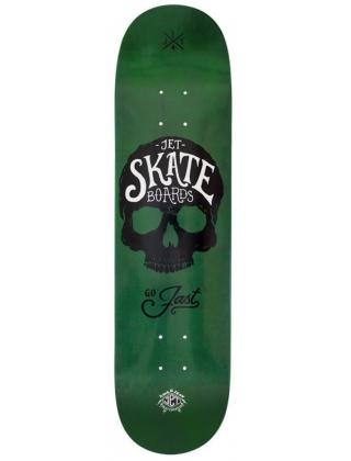 Jet Agent Skate Skull Go Jast Deck