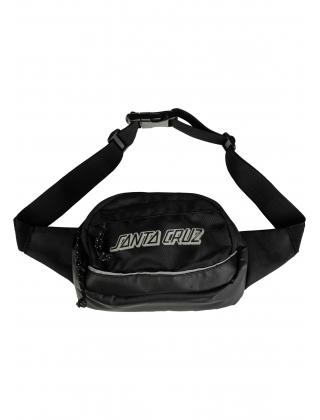 Santa Cruz Hip Bags Classic Stripe Black Vorderansicht