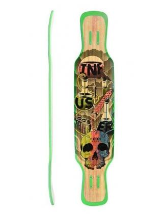 Moonshine Infuser Natural Longboard Deck