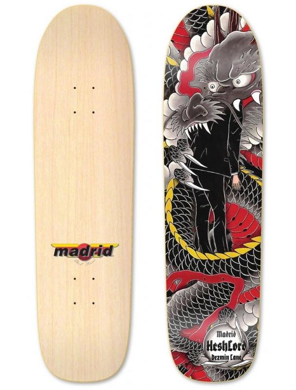 """Skateboard deck Madrid Dezmin Lane 'Heshlord 8.6"""" - Complete Cover Photo"""