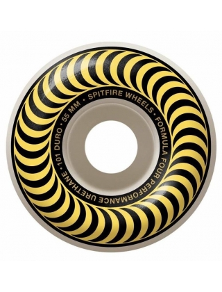 Spitfire Wheels F4 99 Classic Yellow 55