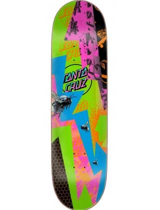 "Santa-Cruz Ultraviolet Everslick Multicolored 8.5"" Deck"