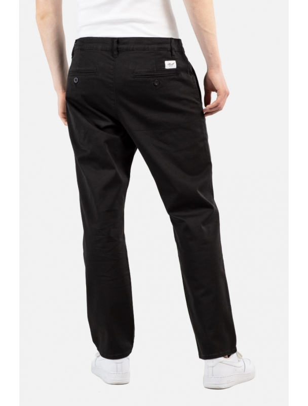 Pants Reell Regular Flex Chino - Black Cover Photo