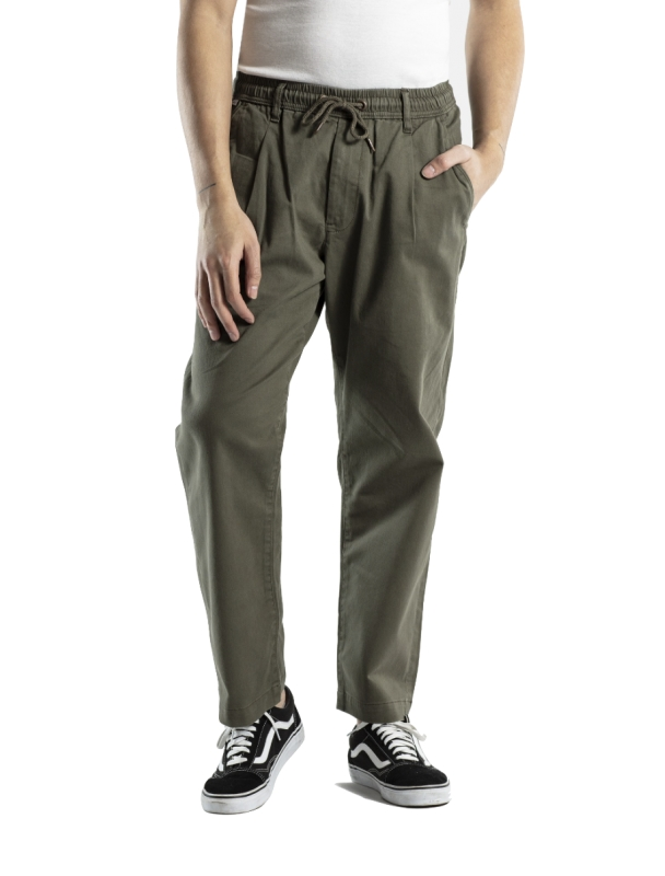 Pants Reell Reflex loose Chino - Olive Cover Photo