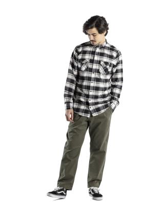 Pants Reell Reflex loose Chino - Olive Photo 3