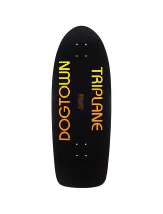 Dogtown Triplane Rider Black Yorkite Neon 11'' - Old School Deck