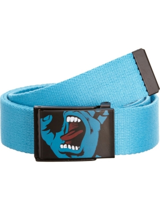 Santa Cruz Belt Screaming Hand - Blue