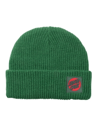Santa Cruz Missing Dot Beanie - Evergreen