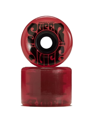 Wheels OJ Super juice 78A - Trans Red