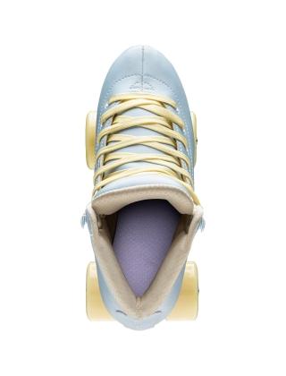 Patins à roulettes Impala Quad Skate - Sky Blue/Yellow Photo 3