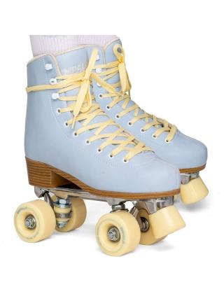Patins à roulettes Impala Quad Skate - Sky Blue/Yellow Photo 4