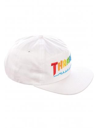 Cap Thrasher Rainbow Mag Snapback - Black Photo 4