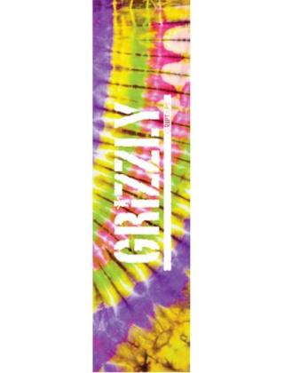 GRIZZLY Tie-Dye Griptape sheet - Different design