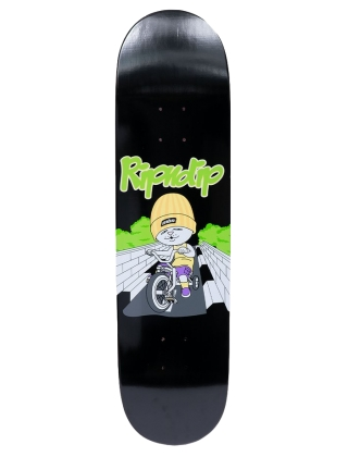 RIPNDIP Must Be Riding Road - Black