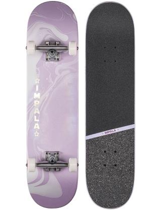 "Impala Cosmos Skateboard 7.75"" Purple - Complete Deck"