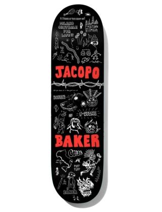 """Baker Jacopo Puff Puff 8.5"""" - Deck"""