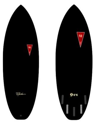Pyzel JFF Gremlin 6'0 Surf - Black