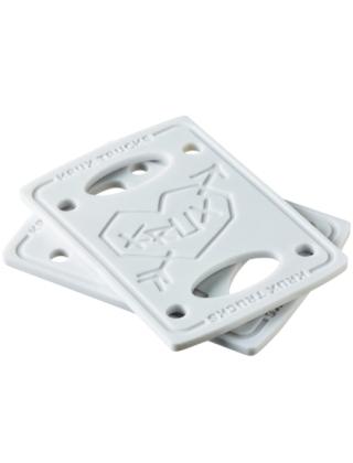 "Krux Riser/Shockpads 1/8"" - Silver"