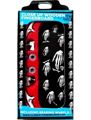 Close Up Finger Skate Skull hand Logo Mosaic - Complete Setup
