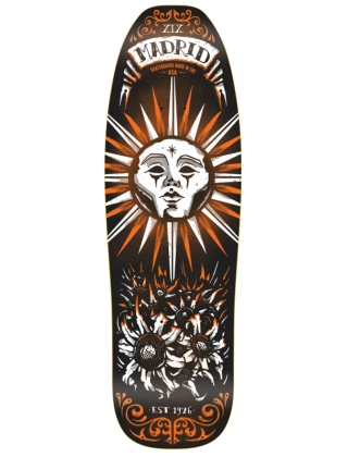 "MADRID Sun Taro Card Retro Pool 9.5"" - Old School Deck"