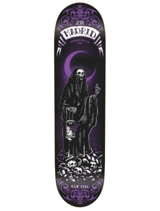 "Madrid Reaper Tarot Card 8.25"" - Deck"