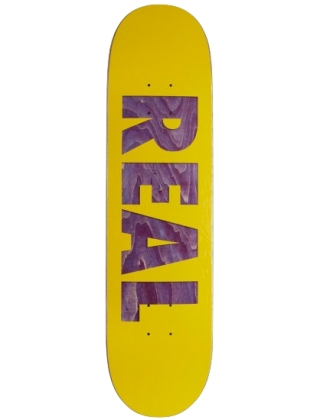 "Real Bold Team Assorted/Yellow 8.06"" - Skateboard Deck"