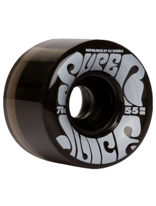 OJ Wheels Mini Super Juice 78A - Black Trans