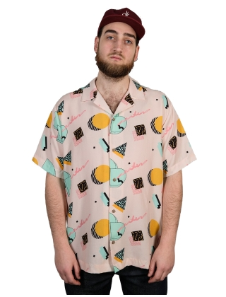 The Dudes DD S/S Pink Shirt