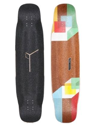 Loaded Tesseract - Longboard Deck Only