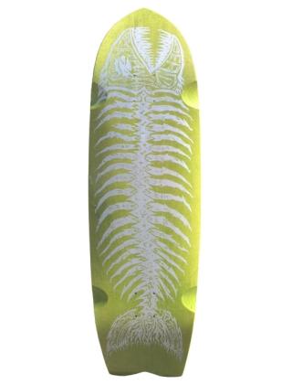 Alva Pescado Grande Fish 37'' - Old School Skate Deck