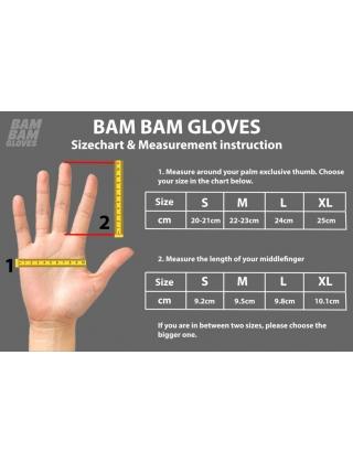 Slide gloves BamBam Leather Gloves - Harry Clark World Champ Photo 2