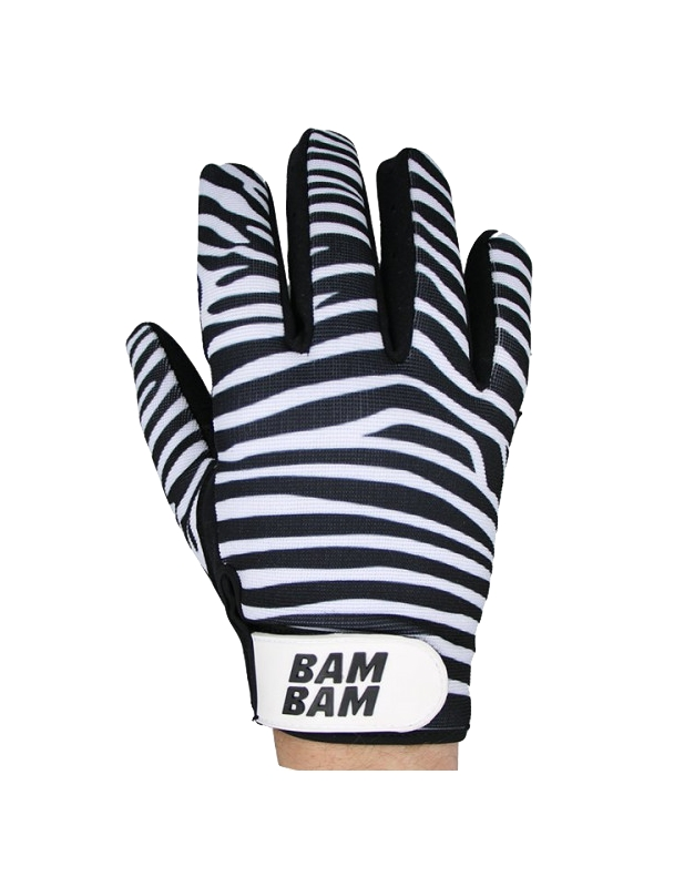 Slide gloves BamBam Fabric Gloves - Zebra Cover Photo