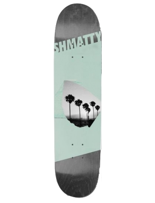 "Visual Shmatty Oasis 8.1"" - Deck"