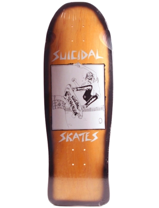"""Dogtown Suicidal Pool Skater Reissue stain/Fade 30.5"""" X 10.125"""" - Deck"""