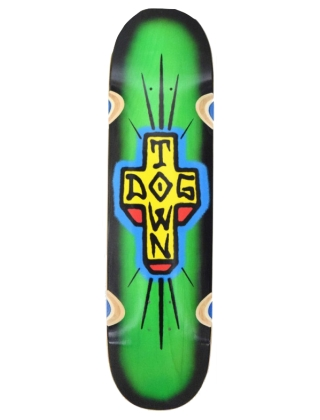 Dogtown Spray Cross Loose Truck Green - Deck