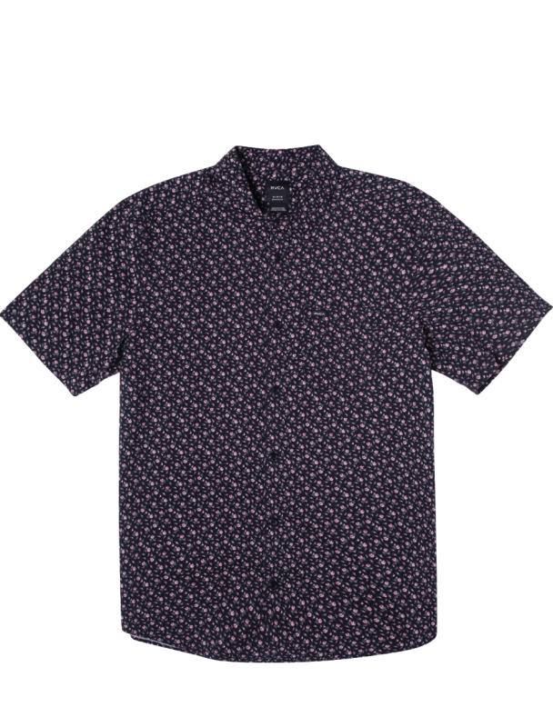 Shirt RVCA Bang On S/S Shirt - Moody Blue Cover Photo