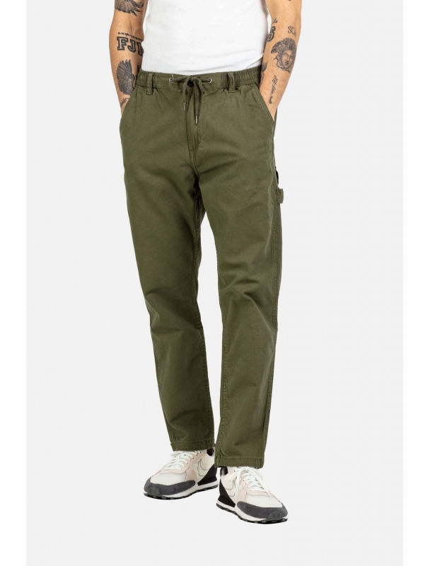 Pantalon Reell Jeans Reflex Easy Worker Clay olive Cover Photo