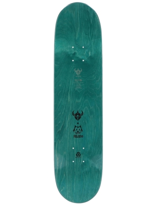 "Darkstar Felix Pattern Hyb Teal 7.75"" - Deck"