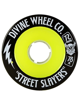 "Divine Street Slayers ""Thunder"" 72mm - 78A"