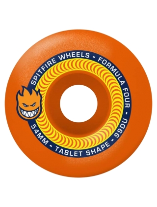 Spitfire Wheels Formula Four Tablet Neon Orange - 53mm