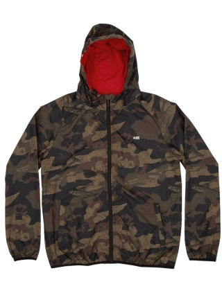 Salty Crew Seawall Packable Jacket - Camo