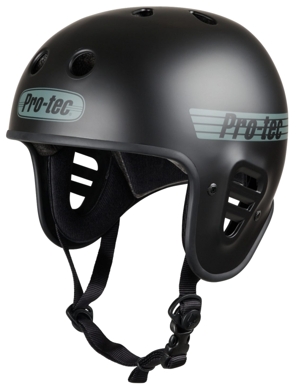 Helmet skateboard, longboard Pro-Tec Full Cut Certified Matte Black - Helmet Cover Photo