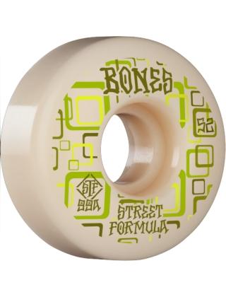 Skateboard wheels Bones Wheels Retros STF White 99A - 54mm Photo 1