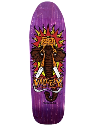 New Deal Heritage Deck Vallely Mammoth 9.5'' Purple - Old School Deck