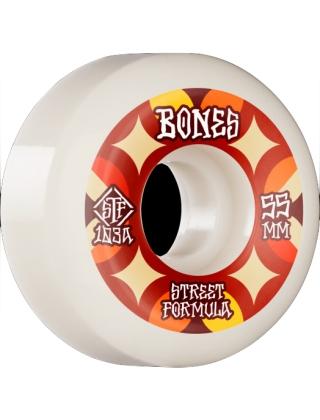 Bones Retros STF 103A / 55mm White V5 Sidecut - Multi