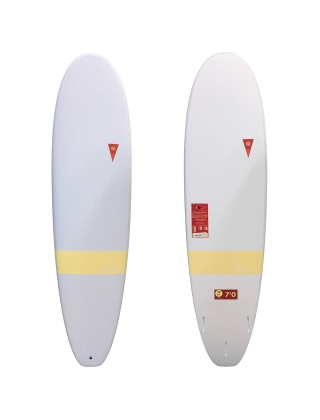 Pyzel The Log 7'0 Surfboard - White